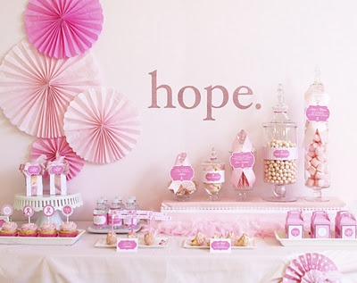 Hope for a cure party ideas