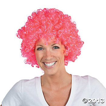 03 Pink Awareness Wig